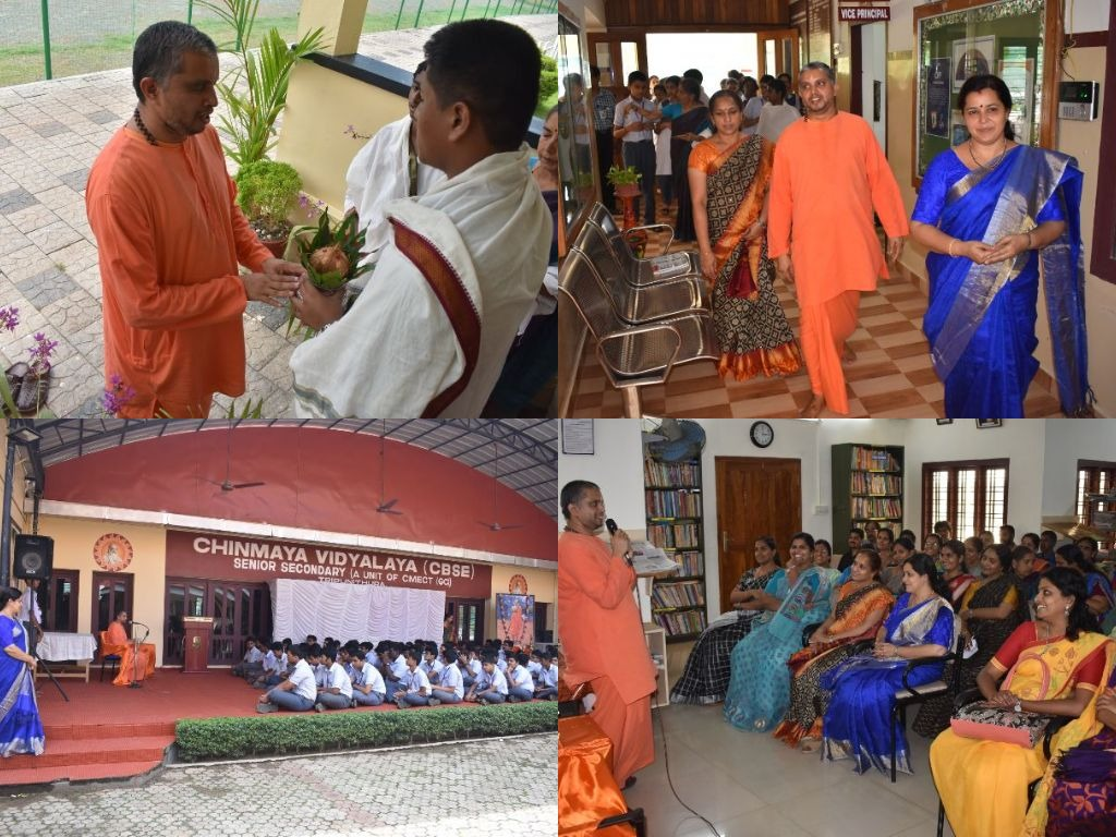 A Visit by Swami Abhayanandaji 2019