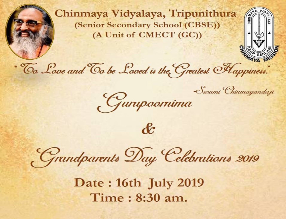 Gurupoornima & Grandparents Day Celebration